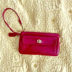 Small coach wristlet wallet